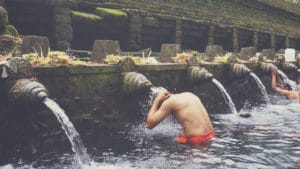 Bali Tour Guide Ubud Water Temple