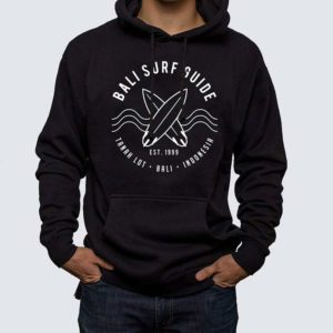 Bali Surf Guide Hoodie front