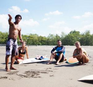 surf coaching bali