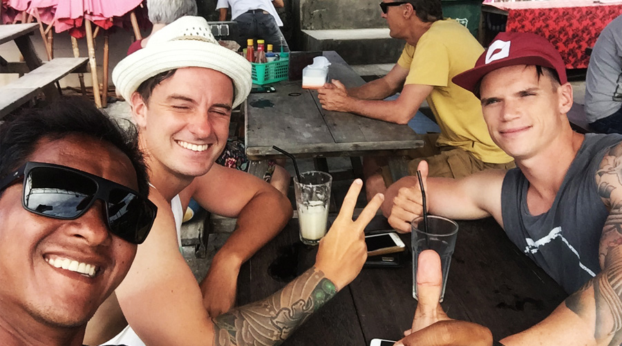 Good times in Bali