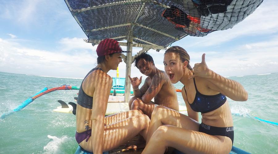 learn to surf in canggu bali