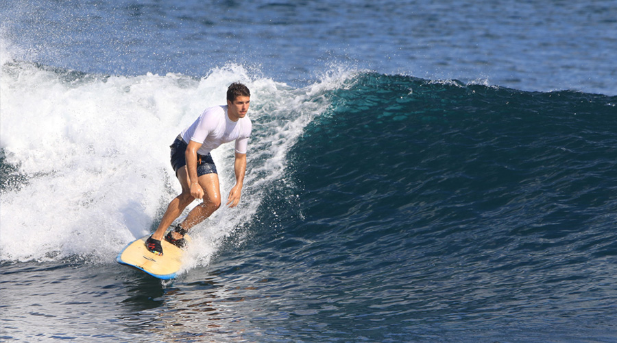 Learn how to surf Bali